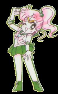 Аватар вконтакте Сейлор Юпитер / Sailor Jupiter из аниме Сейлор Мун / Sailor Moon в чиби стиле