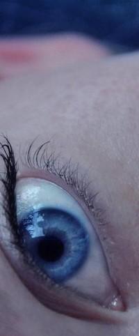 Аватар вконтакте голубой глаз