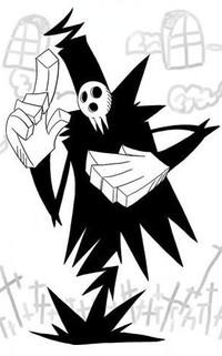 Обои Шинигами / Shinigami из аниме Пожиратель Душ / Soul Eater