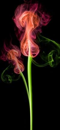 99px.ru аватар разноцветный дым