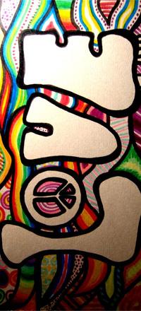 Обои граффити LOVE