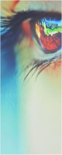 Обои Яркий глаз