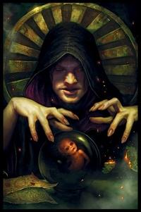 Обои Злобный колдун выращивает имбицила