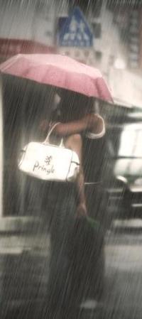 Обои Влюблёные под дождём..*