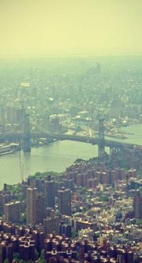 Обои Вид на город
