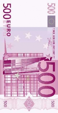 Обои Банкнота-500 euro