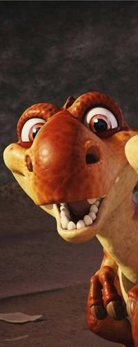 Обои Маленький динозаврик из мультфильма Ледниковый Периуд