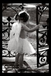 Обои Маленький ангелок
