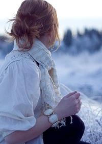 Зимние девушкам на аву