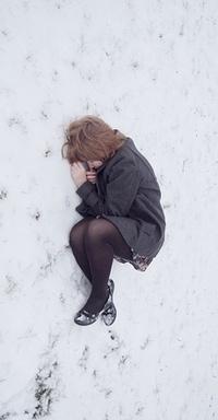 Девушки в снегу фото фото 379-418