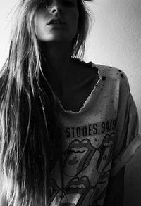 Аватар вконтакте Девушка в черно-белых тонах