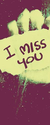 Обои I miss you
