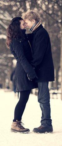 Аватар вконтакте Парень и девушка в зиму