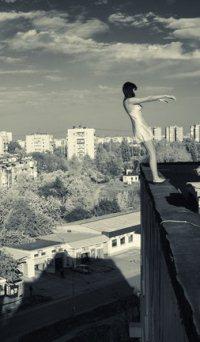 фотографии девушек на крыше