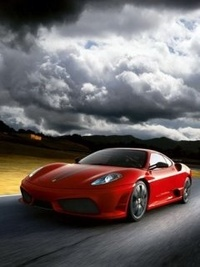 99px.ru аватар Красное авто в пути