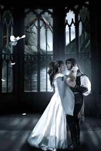 Аватар вконтакте Принц и принцесса в замке