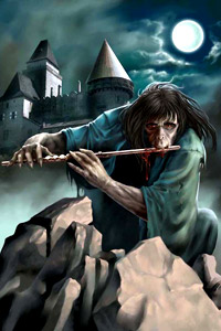 Аватар вконтакте Вампир играет на флейте