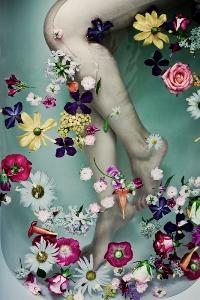 фото ноги в ванной из контакта