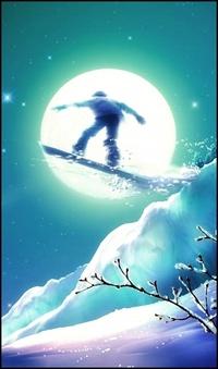 Обои Сноубордист