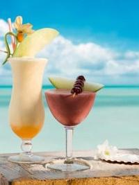 Обои Тропический коктейль с лаймом и ванилью