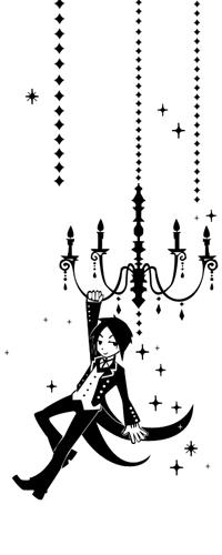 Обои Себастьян Михаэлис / Sebastian Michaelis из аниме Темный дворецкий / Kuroshitsuji
