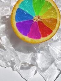 Обои Разноцветный лимон