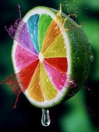 Аватар вконтакте Разноцветный лайм