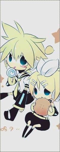 Обои Вокалоиды Кагамине Лен / Len и Rin / Рин