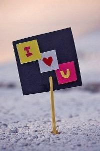 ���� �������� � �������� 'I love U'