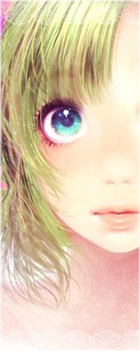 Аватар вконтакте Милая аниме-девушка смотрит на вас