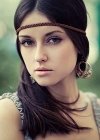 Фото красивой девушка из контакта
