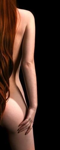 девушки с длинными волосами со спины голые фото