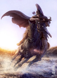 Аватар вконтакте Воин на лошади с арбалетом