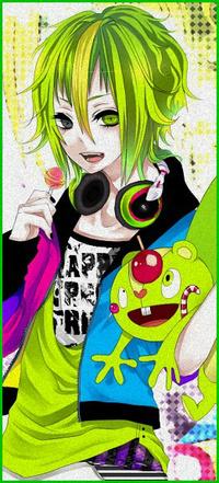 Аватар вконтакте Аниме парень с зелеными волосами