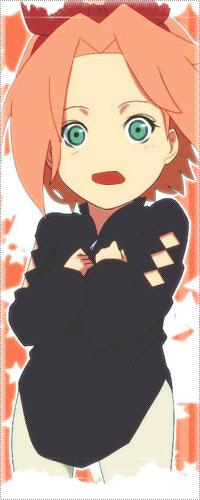 Обои Маленькая Сакура Харуно из аниме ' Наруто/ Naruto'