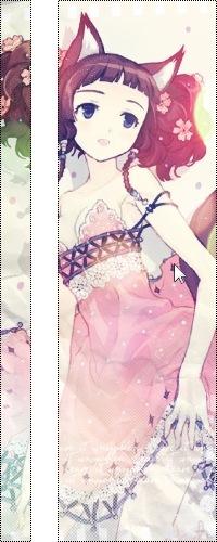 Аниме с цветами в волосах