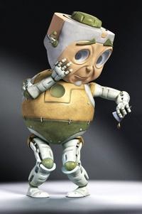 Аватар вконтакте Странные персонажи - смешной робот