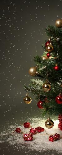 Аватар вконтакте Новогодняя ёлка с подарками