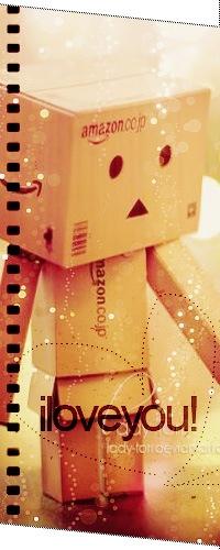 Аватар вконтакте Картонный человечек Данбо / Danbo (iloveyou!)