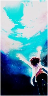 Аватар вконтакте Ребёнок радуется дождю