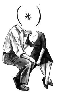 Аватар вконтакте Парень и девушка целуются ( * )