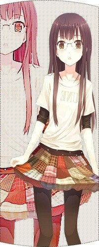 Фото аниме девушки в колготках