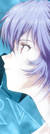 Аватар вконтакте Rei Ayanami / Рей Аянами из аниме Евангелион / Evangelion смотрит в сторону