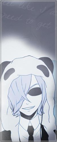 Аватар вконтакте Inga / Инга из аниме Un-Go в смокинге и тёмных очках