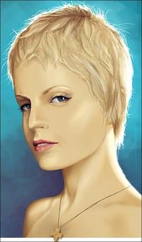 Блондинкас короткой стрижкой фото 399-75
