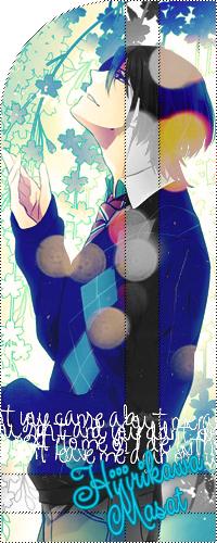 Аватар вконтакте Hijirikawa Masat/ Хиджирикава Масат на природе 'Uta No prince-sama/ Поющие принцы. Реально 1000% любовь'