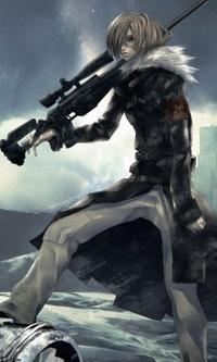 Аватар вконтакте Снайпер с винтовкой
