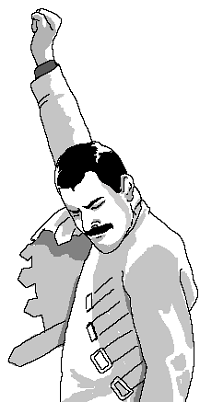 99px.ru аватар Мем So close / Это было так близко! Фреди Меркури / Freddie Mercury с поднятым кулаком и разочарованным лицом