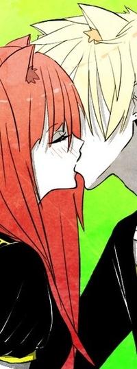 Смотреть фото парень целуется с рыжей девушкой фото 235-764
