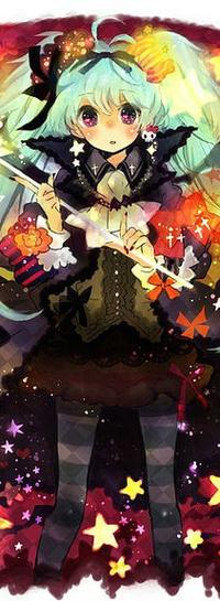 Аватар вконтакте Vocaloid Hatsune Miku / Вокалоид Хатсуне Мику на Хеллоуин / Halloween